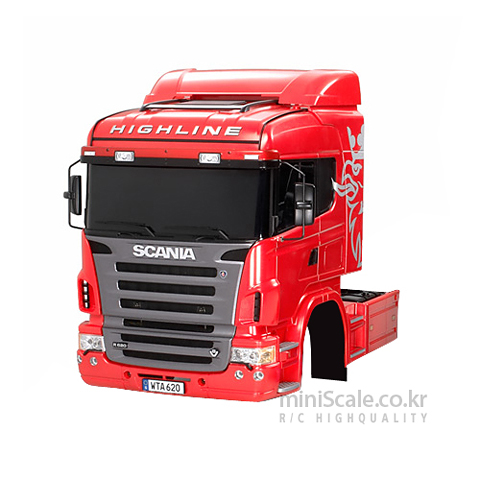 Scania R620 6X4 Highline Body Parts Set / 타미야(Tamiya)