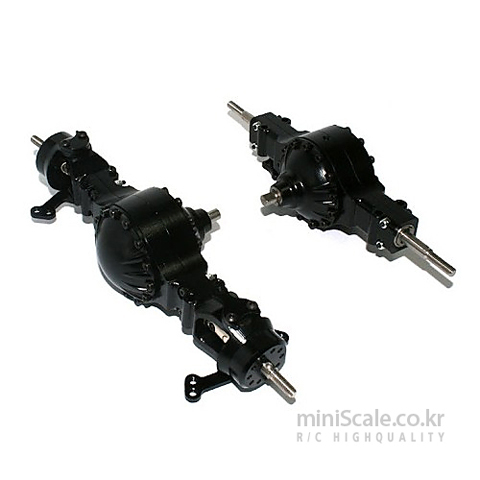 Aluminum CNC 4x4 Axle Set 미니스케일(Miniscale) 미니스케일