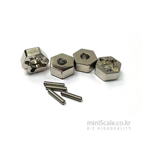 Steel Hex & Pin set(12mm) / 미니스케일(Miniscale)