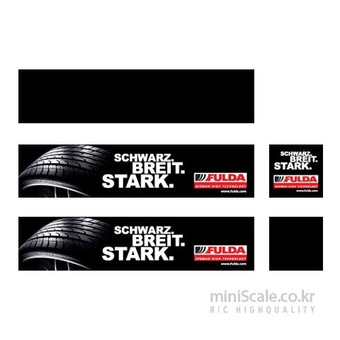 Fulda Decal Sticker D001 / 미니스케일(Miniscale)