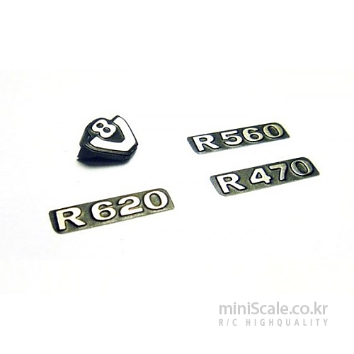 Metal Scania Logo Set 미니스케일(Miniscale) 미니스케일