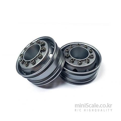 Aluminum Front Wheels Titanium / 미니스케일(Miniscale)