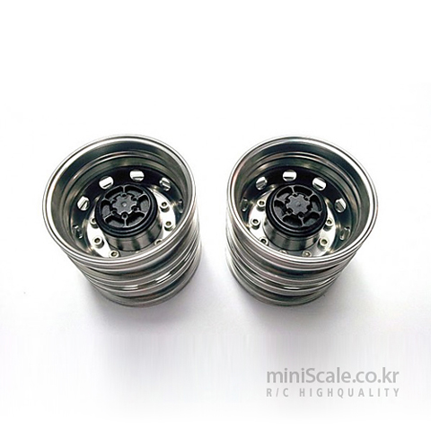 Aluminum Rear Wheels Silver / 미니스케일(Miniscale)