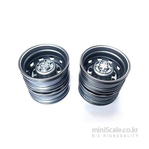 Aluminum Rear Wheels Titanium 미니스케일(Miniscale) 미니스케일