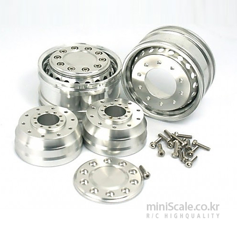RE Truck Aluminum Wide Front Wheels / 미니스케일(Miniscale)