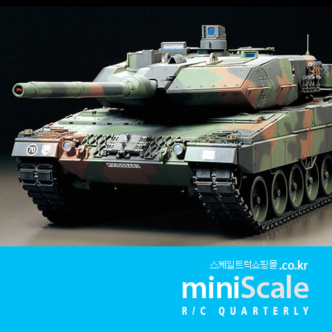 Leopard2 A6 Full Option Kit 타미야(Tamiya) 미니스케일