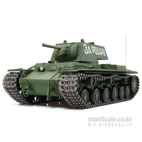 RUSSIAN HEAVY TANK KV-1 Full Option Kit 타미야(Tamiya) 미니스케일
