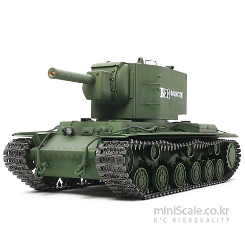RUSSIAN HEAVY TANK KV-2 Full Option Kit 타미야(Tamiya) 미니스케일