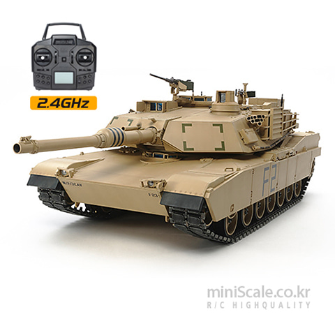 U.S M1A2 Abrams Full-Option Complete Kit 타미야(Tamiya) 미니스케일