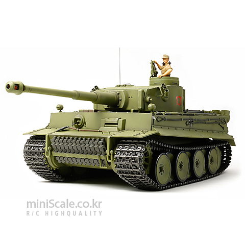 TIGER I Early Production Option Kit(w/Detail Up) 타미야(Tamiya) 미니스케일