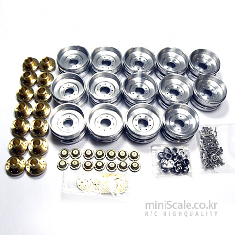 Rollers Metal Wheels(Leopard2 A6) AFV(AFV-MODEL) 미니스케일