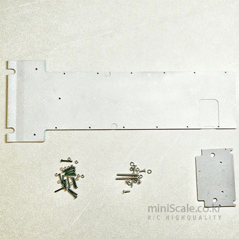 Metal Lower Hull Protect Plate(Leopard2 A6) DKLM RC(D.K.L.M.RC) 미니스케일